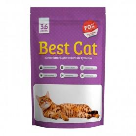 Asternut igienic din silicat Best Cat cu miros de levantica 3,6L