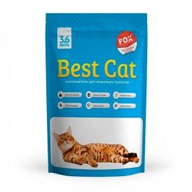 Asternut igienic din silicat Best Cat cu miros de menta 3,6L