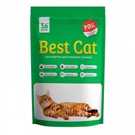 Asternut igienic din silicat Best Cat cu miros de mar 3,6L