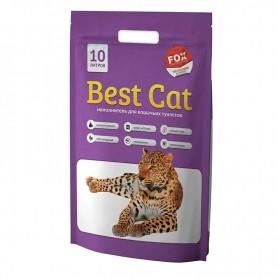Asternut igienic din silicat Best Cat cu miros de levantica 10L
