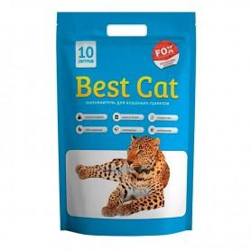 Asternut igienic din silicat Best Cat cu miros de menta 10L