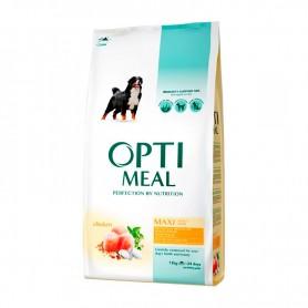Hrana uscata pentru caini Optimeal Dog Maxi Adult Chicken 12kg