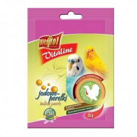 Supliment nutritiv pentru perusi Vitapol Vitaline perle cu iod 20g