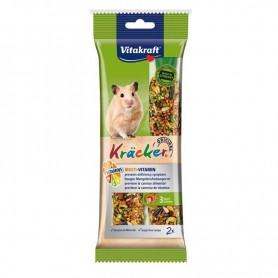 Hrana Vitakraft Kracker Multi-Vitamin pentru hamsteri 112g