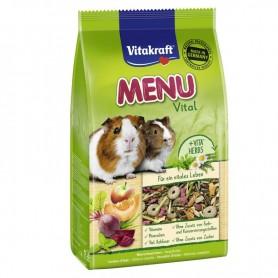 Hrana Vitakraft Menu pentru porcusori de Guineea (cobai) 400g