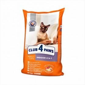 Hrana uscata pentru pisici Club 4 Paws Cat Indoor 4in1 14kg