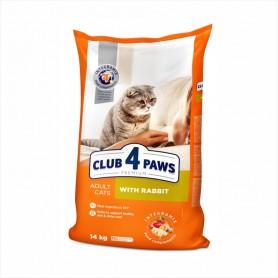 Hrana uscata pentru pisici Club 4 Paws Cat Rabbit 14kg