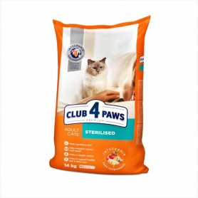 Hrana uscata pentru pisici Club 4 Paws Cat Sterilised 1kg (la cantar)