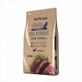 Hrana uscata pentru pisici Fitmin Purity GF Delicious Venison 10kg