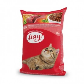 Hrana uscata Miau with Meat, rice & vegetables 11kg