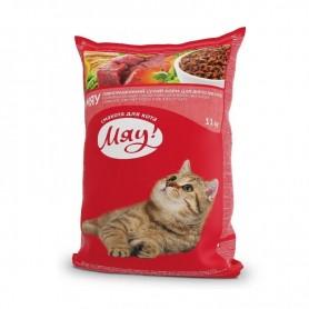 Hrana uscata Miau with Meat, rice & vegetables 1kg (la cantar)