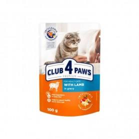 Hrana umeda Club 4 Paws Lamb in gravy 100g