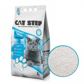 Asternut igienic Cat Step Compact White Original 5L
