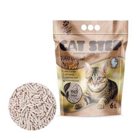 Asternut igienic Cat Step Tofu Original 6L