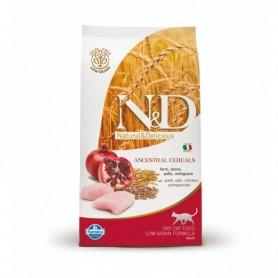 Hrana uscata pentru pisici ND Cat Ancestral Grain Chicken & Pomegranate 1,5kg