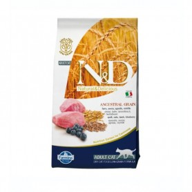 Hrana uscata pentru pisici ND Cat Ancestral Grain Lamb & Blueberry 1,5kg