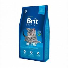 Hrana uscata pentru pisici Brit Premium Cat Kitten Chicken 1kg (la cantar)