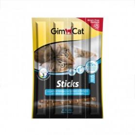 Recompensa pentru pisici Gimcat Stick Salmon & Trout 5g