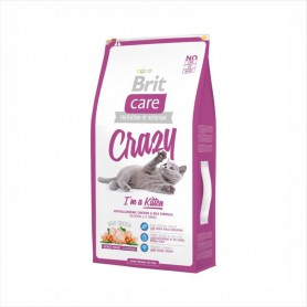 Hrana uscata pentru pisici Brit Care Cat Crazy I'm Kitten 1kg (la cantar)