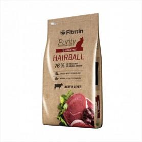Hrana uscata pentru pisici Fitmin Purity Hairball Beef & Liver 1kg (la cantar)