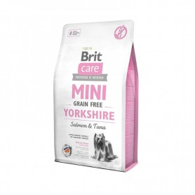 Hrana uscata pentru caini Brit Care Mini Yorkshire Salmon & Tuna 7kg