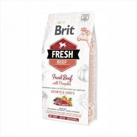 Hrana uscata pentru caini Brit Fresh Beef with Pumpkin Puppy Large Bones & Joints 12kg