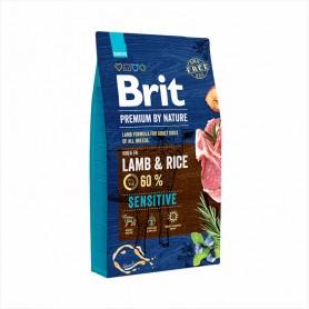 Hrana uscata pentru caini Brit Premium by Nature Sensitive Lamb & Rice 15kg