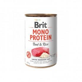 Conserva Brit Mono Protein Beef & Rice 400g