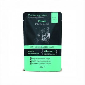 Hrana umeda Fitmin For Life Sterilised Fillets Salmon 85g